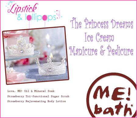 sweet treat princess dream mani pedi